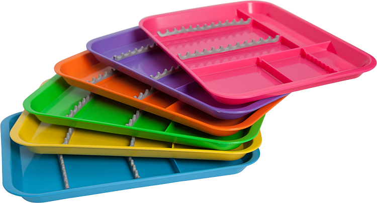 B-Lok Divided Tray $14.50 USD  sc 1 st  Zirc Dental Products & Trays | Products | Zirc